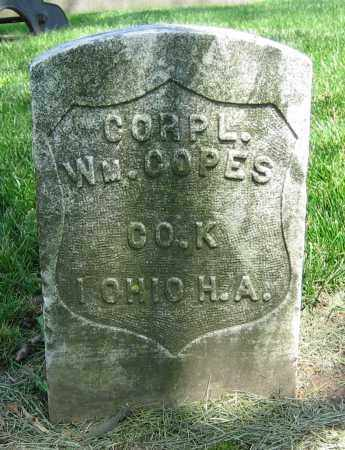 COPES, WM. - Clark County, Ohio | WM. COPES - Ohio Gravestone Photos