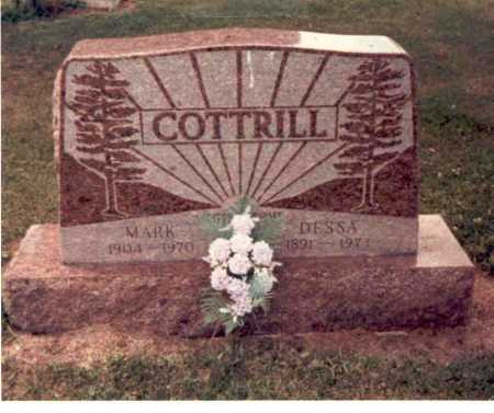 COTTRILL, MARK - Clark County, Ohio | MARK COTTRILL - Ohio Gravestone Photos