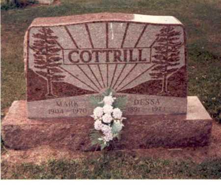 COTTRILL, MARK - Clark County, Ohio | MARK COTTRILL - Ohio Gravestone Photos