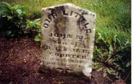 COURTER, JOHN M - Clark County, Ohio | JOHN M COURTER - Ohio Gravestone Photos