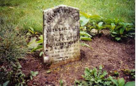 COURTER, WILLIAM H. - Clark County, Ohio | WILLIAM H. COURTER - Ohio Gravestone Photos