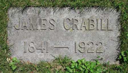 CRABILL, JAMES - Clark County, Ohio | JAMES CRABILL - Ohio Gravestone Photos