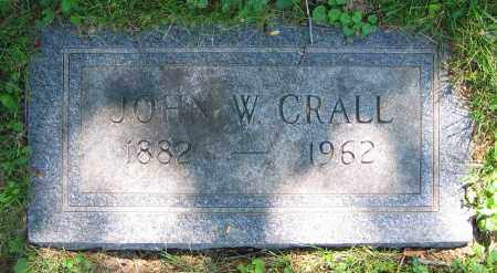 CRALL, JOHN W. - Clark County, Ohio | JOHN W. CRALL - Ohio Gravestone Photos