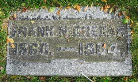 CREGAR, FRANK N. - Clark County, Ohio   FRANK N. CREGAR - Ohio Gravestone Photos