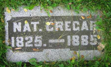 CREGAR, NAT. - Clark County, Ohio | NAT. CREGAR - Ohio Gravestone Photos