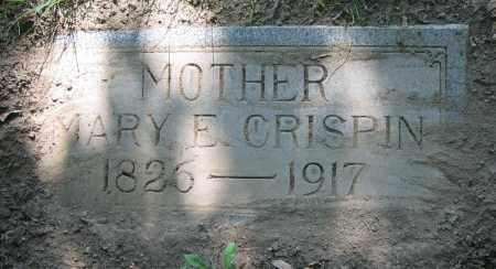 CRISPIN, MARY E. - Clark County, Ohio | MARY E. CRISPIN - Ohio Gravestone Photos