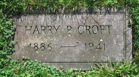 CROFT, HARRY P. - Clark County, Ohio | HARRY P. CROFT - Ohio Gravestone Photos
