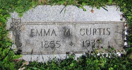 CURTIS, EMMA M. - Clark County, Ohio   EMMA M. CURTIS - Ohio Gravestone Photos