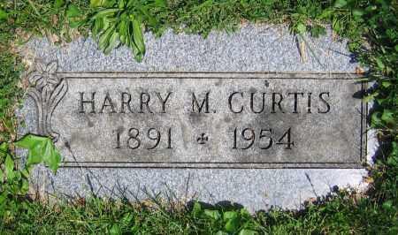 CURTIS, HARRY M. - Clark County, Ohio | HARRY M. CURTIS - Ohio Gravestone Photos