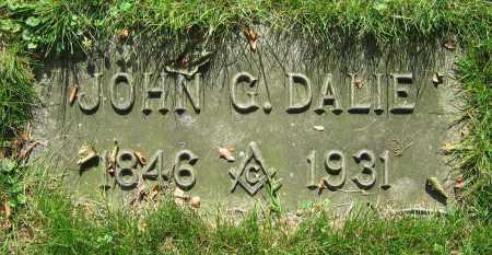 DALIE, JOHN G. - Clark County, Ohio   JOHN G. DALIE - Ohio Gravestone Photos