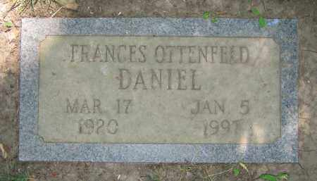 OTTENFELD DANIEL, FRANCES - Clark County, Ohio | FRANCES OTTENFELD DANIEL - Ohio Gravestone Photos