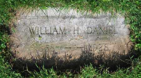 DANIEL, WILLIAM H. - Clark County, Ohio   WILLIAM H. DANIEL - Ohio Gravestone Photos