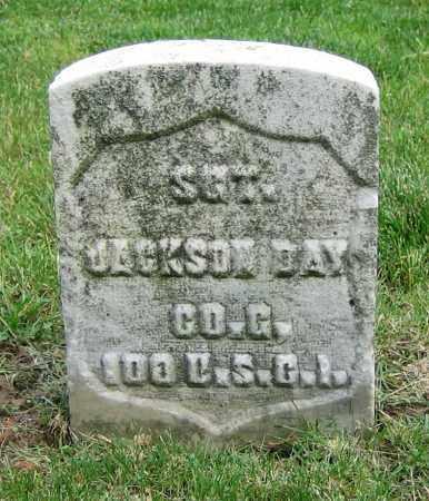 DAY, JACKSON - Clark County, Ohio   JACKSON DAY - Ohio Gravestone Photos