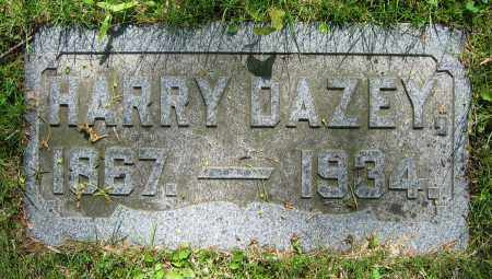 DAZEY, HARRY - Clark County, Ohio   HARRY DAZEY - Ohio Gravestone Photos