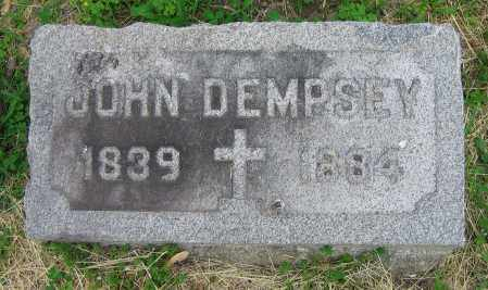 DEMPSEY, JOHN - Clark County, Ohio | JOHN DEMPSEY - Ohio Gravestone Photos