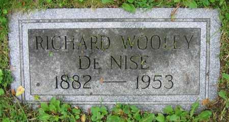 DENISE, RICHARD WOOLEY - Clark County, Ohio | RICHARD WOOLEY DENISE - Ohio Gravestone Photos