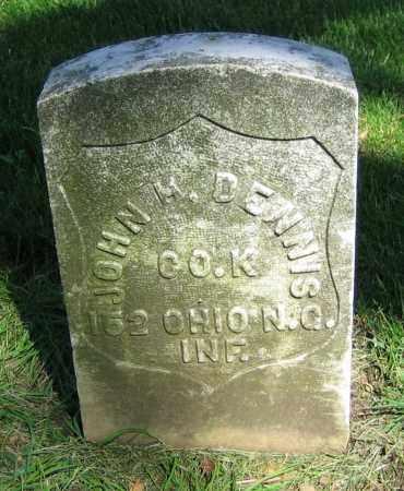 DENNIS, JOHN H. - Clark County, Ohio   JOHN H. DENNIS - Ohio Gravestone Photos