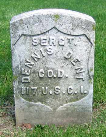 DENT, DENNIS - Clark County, Ohio | DENNIS DENT - Ohio Gravestone Photos