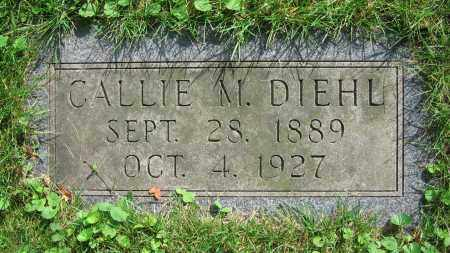 DIEHL, CALLIE M. - Clark County, Ohio | CALLIE M. DIEHL - Ohio Gravestone Photos