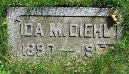 DIEHL, IDA M. - Clark County, Ohio   IDA M. DIEHL - Ohio Gravestone Photos