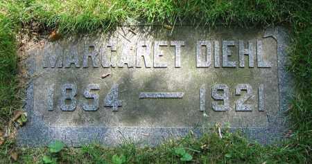 DIEHL, MARGARET - Clark County, Ohio   MARGARET DIEHL - Ohio Gravestone Photos