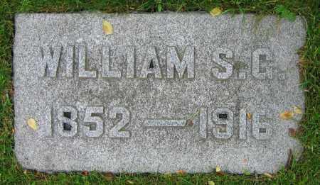 DILLAHUNT, WILLIAM S.G. - Clark County, Ohio | WILLIAM S.G. DILLAHUNT - Ohio Gravestone Photos