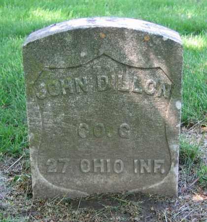 DILLON, JOHN - Clark County, Ohio | JOHN DILLON - Ohio Gravestone Photos