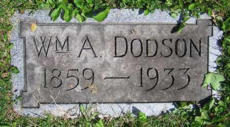 DODSON, WM. A. - Clark County, Ohio | WM. A. DODSON - Ohio Gravestone Photos