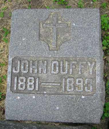 DUFFY, JOHN - Clark County, Ohio | JOHN DUFFY - Ohio Gravestone Photos