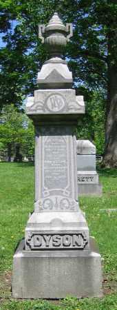 DYSON, ANN - Clark County, Ohio | ANN DYSON - Ohio Gravestone Photos