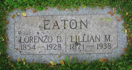 EATON, LORENZO D. - Clark County, Ohio   LORENZO D. EATON - Ohio Gravestone Photos