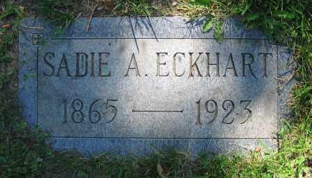 ECKHART, SADIE A. - Clark County, Ohio | SADIE A. ECKHART - Ohio Gravestone Photos