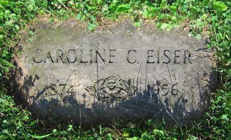 EISER, CAROLINE C. - Clark County, Ohio   CAROLINE C. EISER - Ohio Gravestone Photos