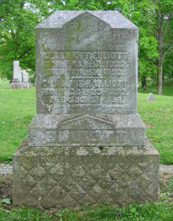 ELLIOTT, ELKANAH F. - Clark County, Ohio   ELKANAH F. ELLIOTT - Ohio Gravestone Photos