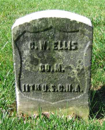 ELLIS, G.W. - Clark County, Ohio | G.W. ELLIS - Ohio Gravestone Photos