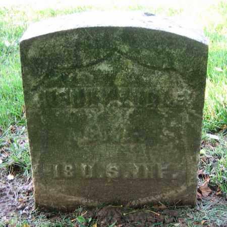 ENGLE, HENRY - Clark County, Ohio | HENRY ENGLE - Ohio Gravestone Photos