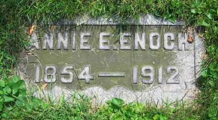 ENOCH, ANNIE E. - Clark County, Ohio   ANNIE E. ENOCH - Ohio Gravestone Photos