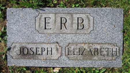 ERB, ELIZABETH - Clark County, Ohio   ELIZABETH ERB - Ohio Gravestone Photos