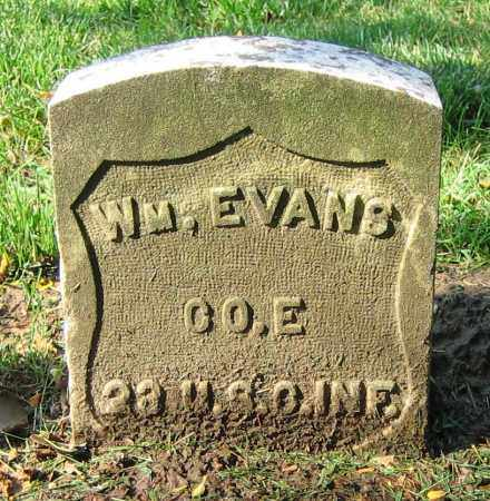 EVANS, WM. - Clark County, Ohio | WM. EVANS - Ohio Gravestone Photos