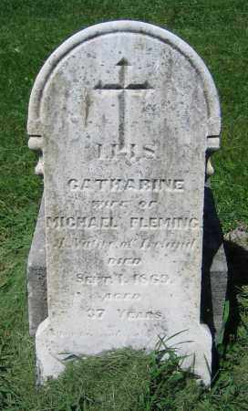 FLEMING, CATHARINE - Clark County, Ohio | CATHARINE FLEMING - Ohio Gravestone Photos