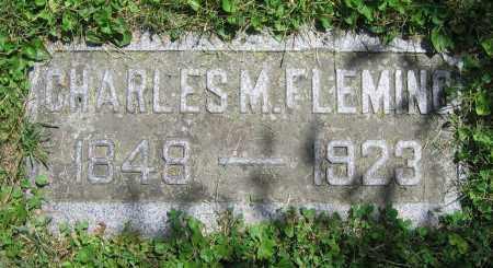 FLEMING, CHARLES M. - Clark County, Ohio | CHARLES M. FLEMING - Ohio Gravestone Photos