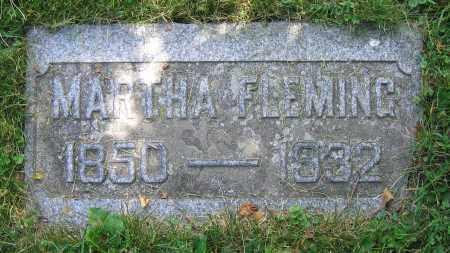 FLEMING, MARTHA - Clark County, Ohio | MARTHA FLEMING - Ohio Gravestone Photos