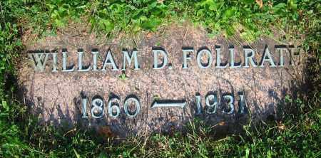 FOLLRATH, WILLIAM D. - Clark County, Ohio   WILLIAM D. FOLLRATH - Ohio Gravestone Photos