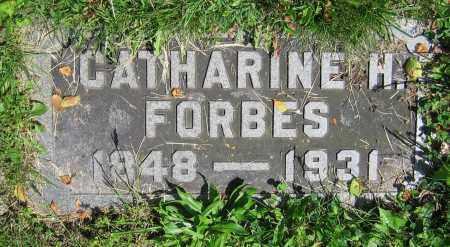 FORBES, CATHARINE H. - Clark County, Ohio   CATHARINE H. FORBES - Ohio Gravestone Photos