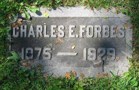FORBES, CHARLES E. - Clark County, Ohio   CHARLES E. FORBES - Ohio Gravestone Photos