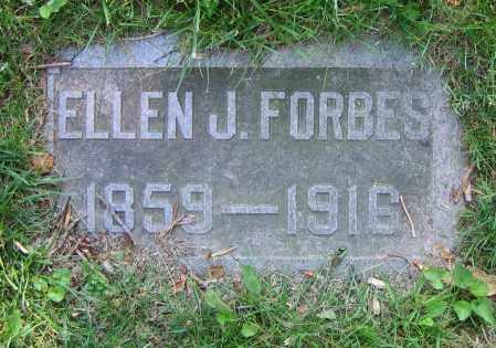 FORBES, ELLEN J. - Clark County, Ohio | ELLEN J. FORBES - Ohio Gravestone Photos