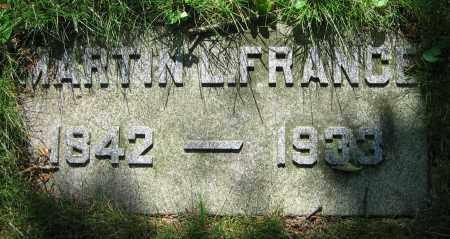 FRANCE, MARTIN L. - Clark County, Ohio | MARTIN L. FRANCE - Ohio Gravestone Photos