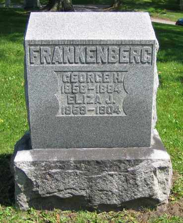 FRANKENBERG, GEORGE H. - Clark County, Ohio | GEORGE H. FRANKENBERG - Ohio Gravestone Photos
