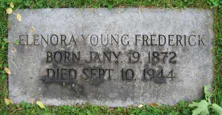 YOUNG FREDERICK, ELNORA - Clark County, Ohio | ELNORA YOUNG FREDERICK - Ohio Gravestone Photos