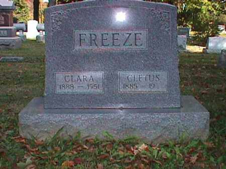 FREEZE, CLETUS CHARLES - Clark County, Ohio | CLETUS CHARLES FREEZE - Ohio Gravestone Photos